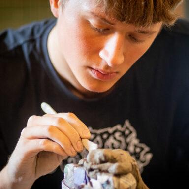 Keramik på Testrup Højskole